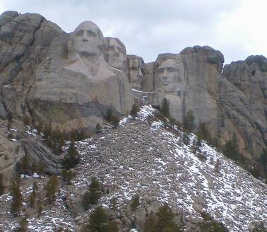 Mount Rushmore, Crazy Horse Memorial